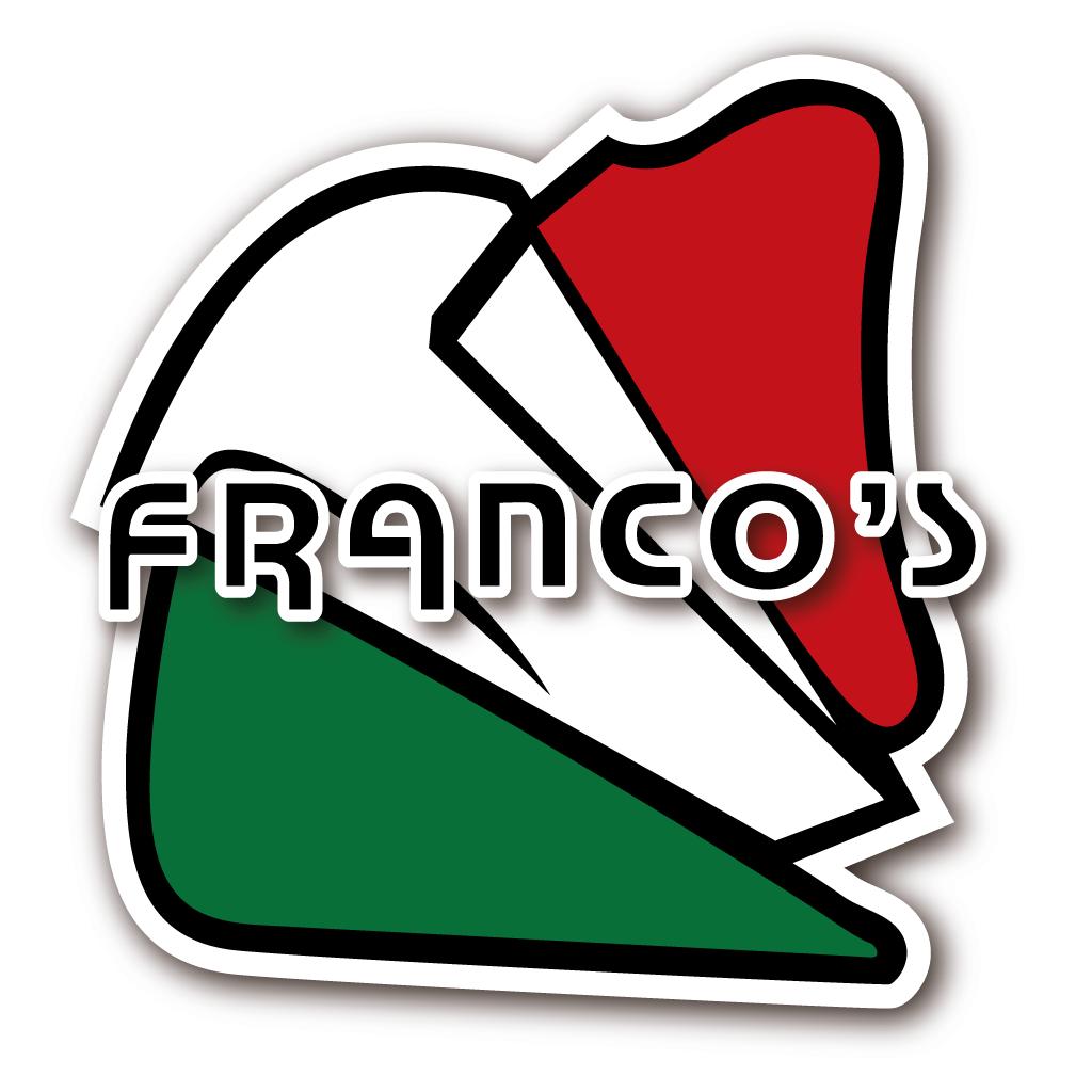 Francos Pizzeria Online Takeaway Menu Logo