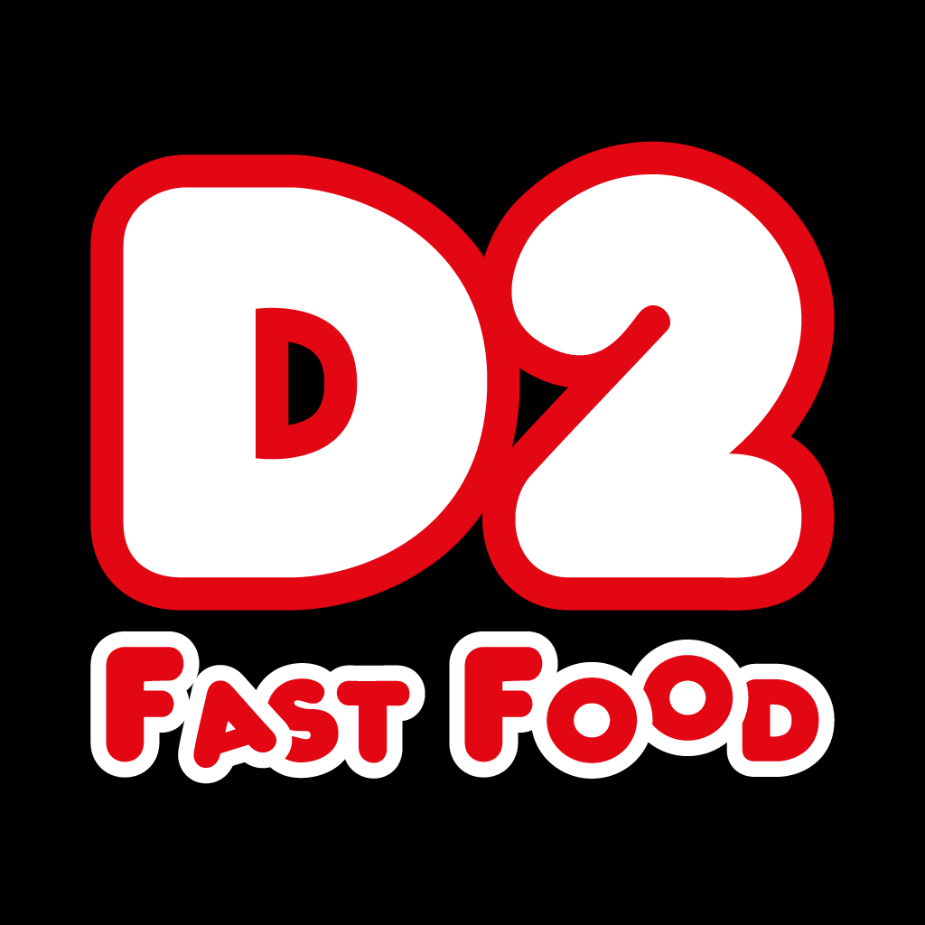 D2 Fast Food Online Takeaway Menu Logo
