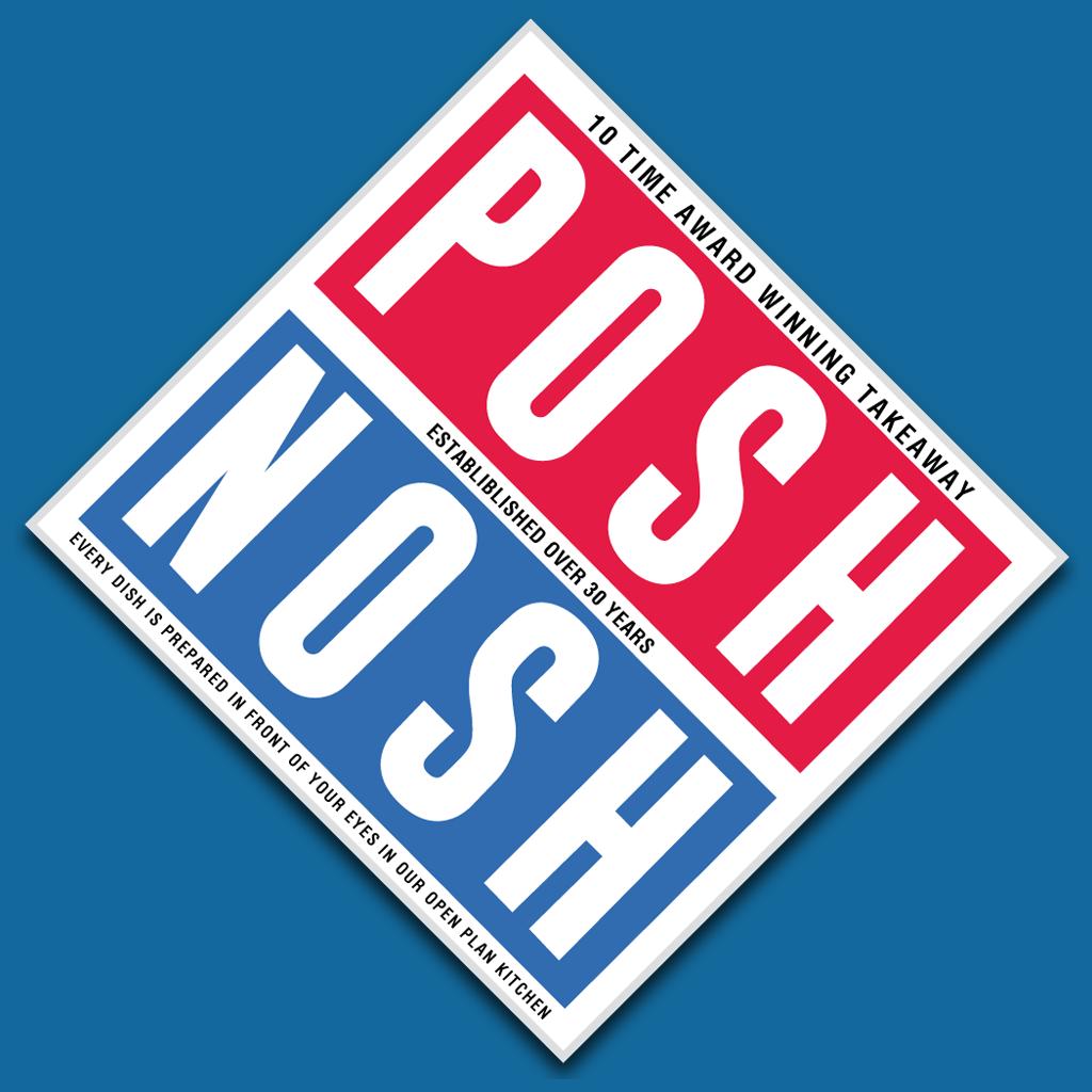 Posh Nosh Online Takeaway Menu Logo