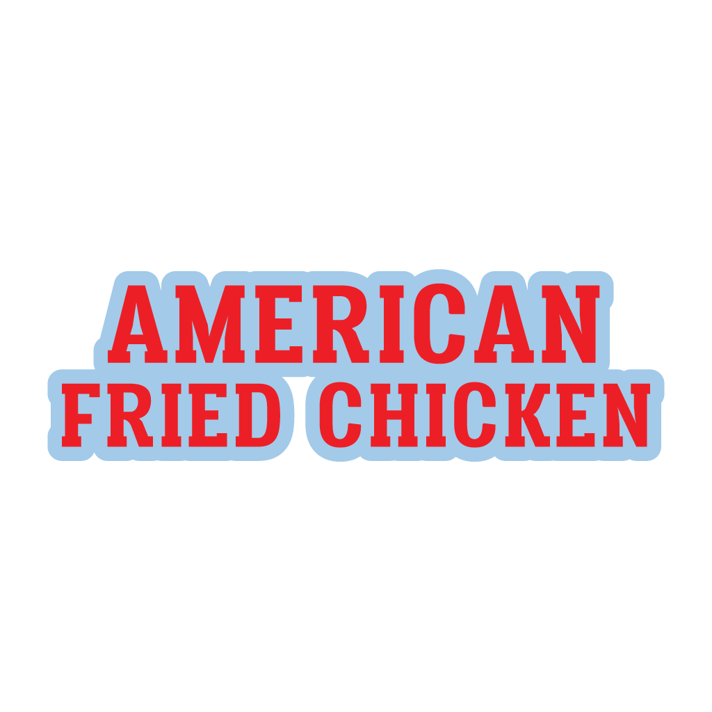 American Fried Chicken Online Takeaway Menu Logo