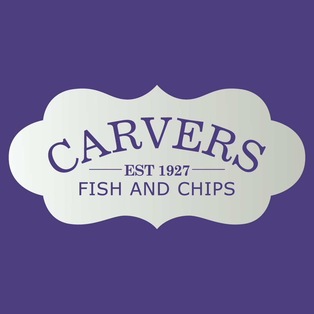 Carvers Fish and Chips Restaurant Online Takeaway Menu Logo