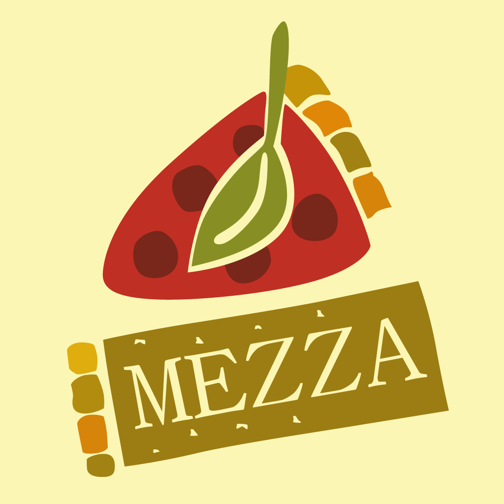 Mezza Pizza Online Takeaway Menu Logo