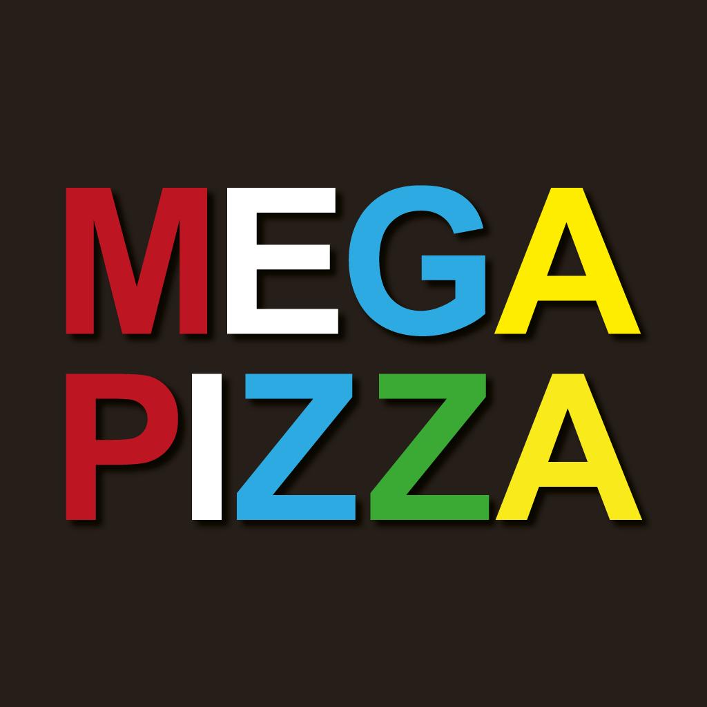 Mega Pizza Online Takeaway Menu Logo