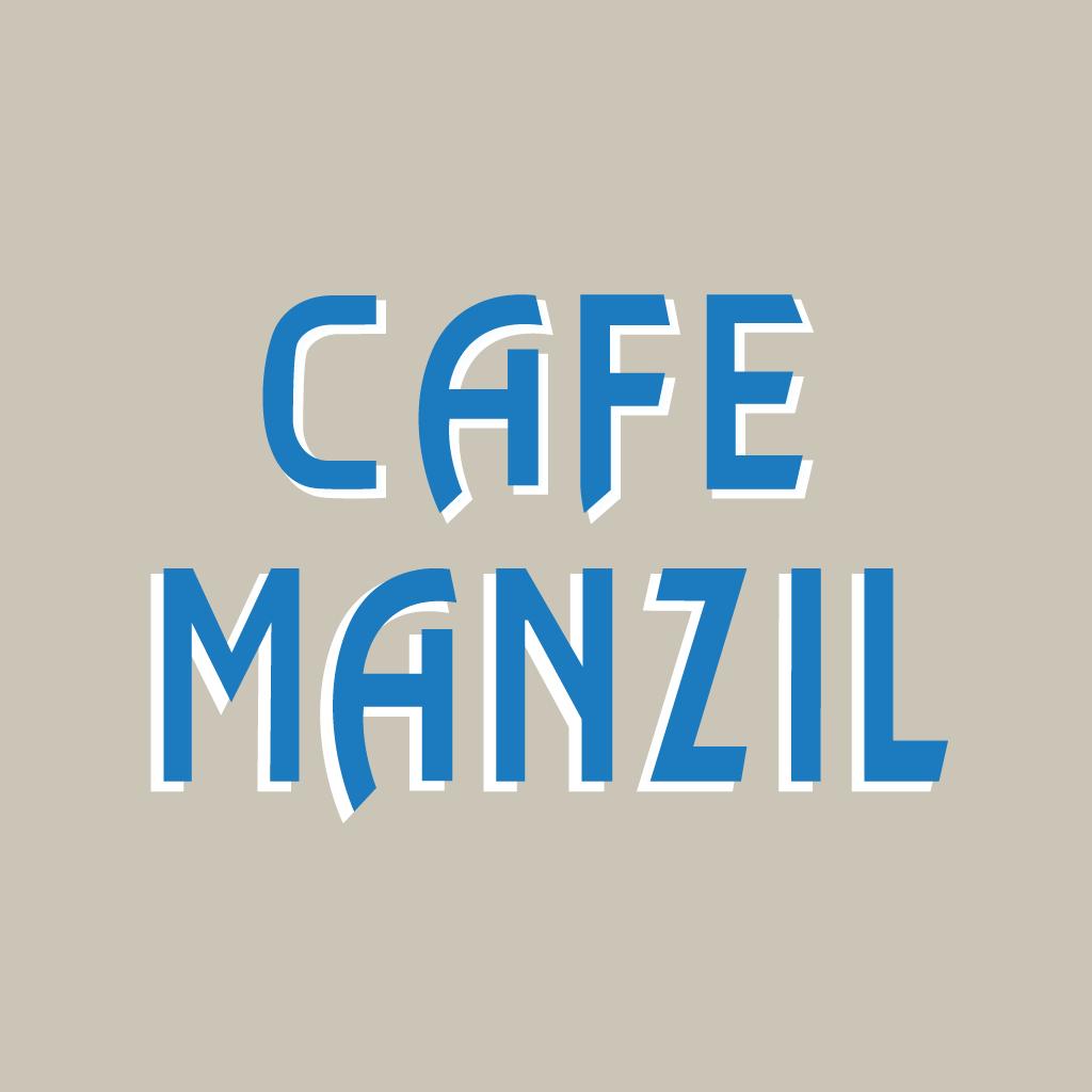 Cafe Manzil Online Takeaway Menu Logo
