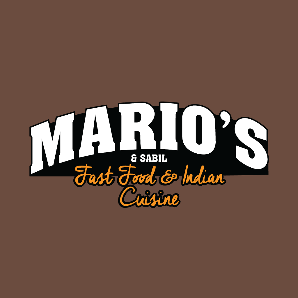 Marios and Sabil Fast Food and Indian Cuisi... Online Takeaway Menu Logo