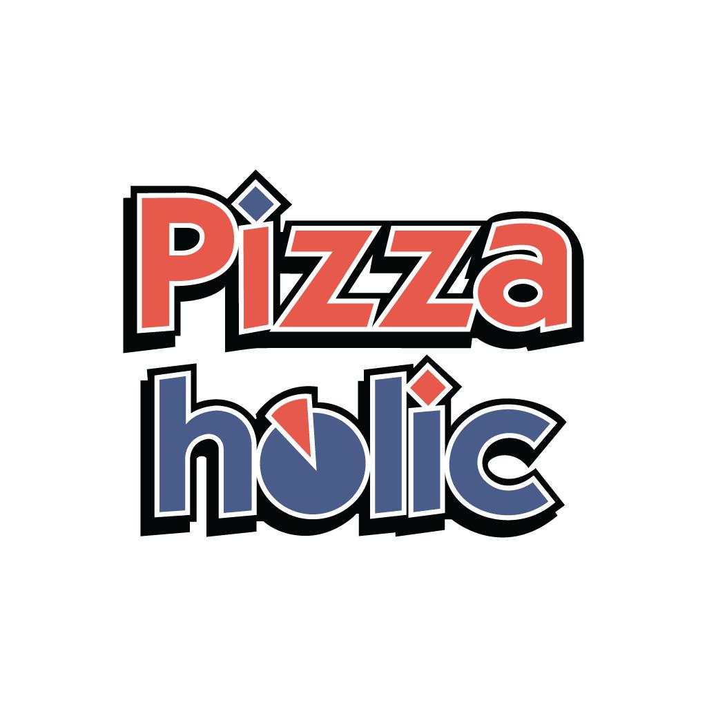Pizzaholic Takeaway Logo