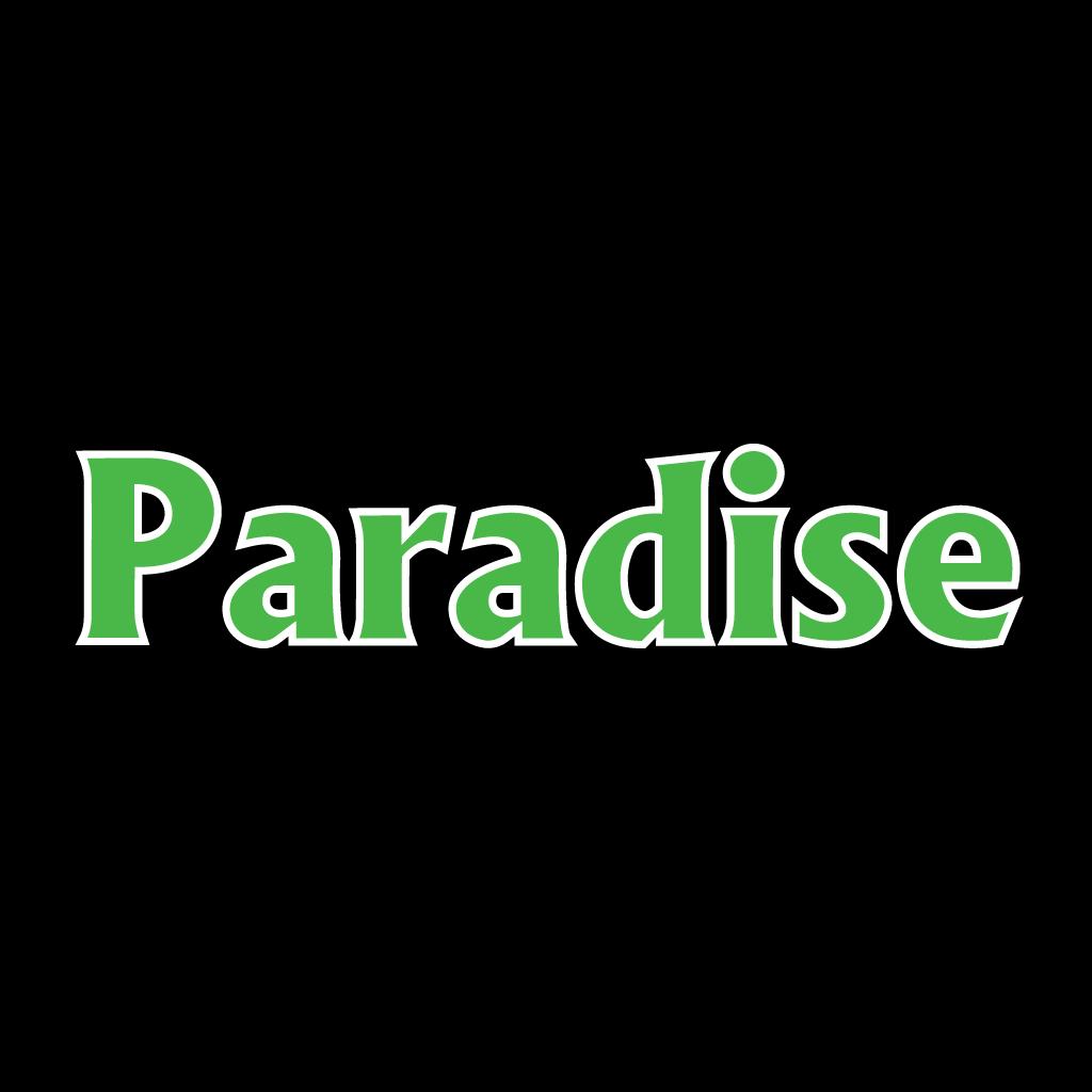 Paradise Online Takeaway Menu Logo