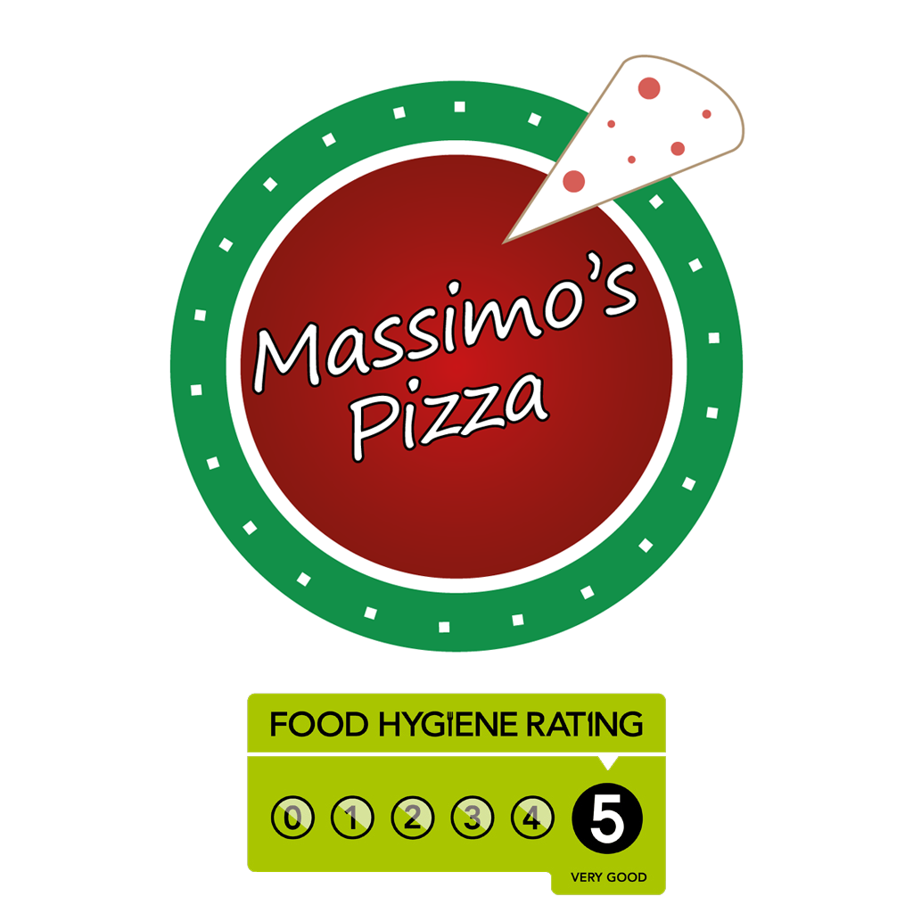 Massimos Pizza Takeaway Logo