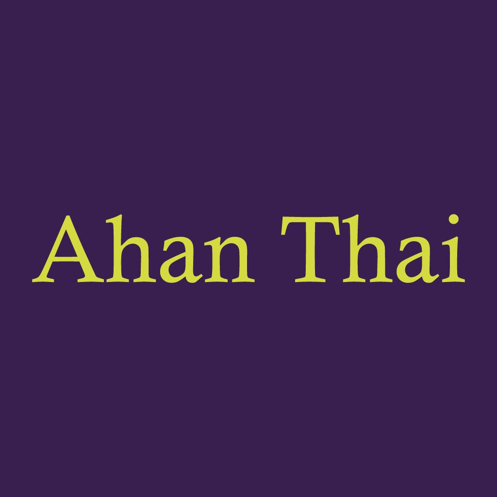 Ahan Thai Online Takeaway Menu Logo