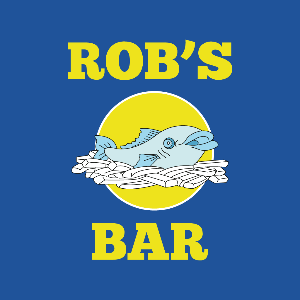 Rob's Fish Bar Online Takeaway Menu Logo