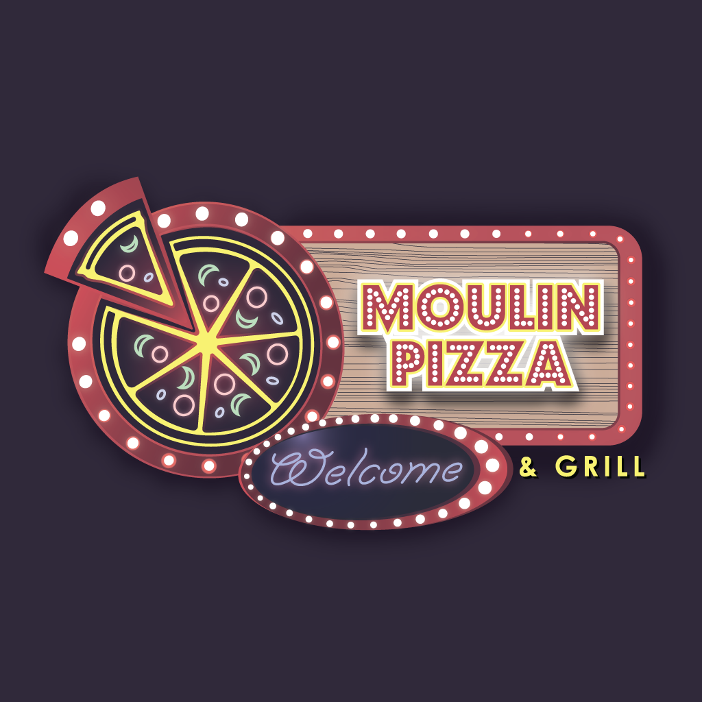 Moulin Pizza and Grill Online Takeaway Menu Logo