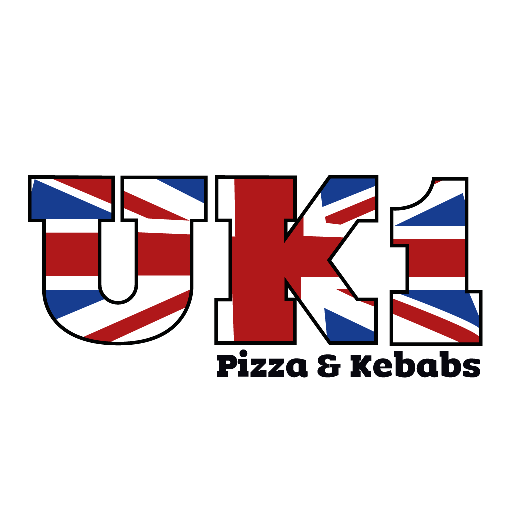 UK 1 Pizza & Kebabs Online Takeaway Menu Logo