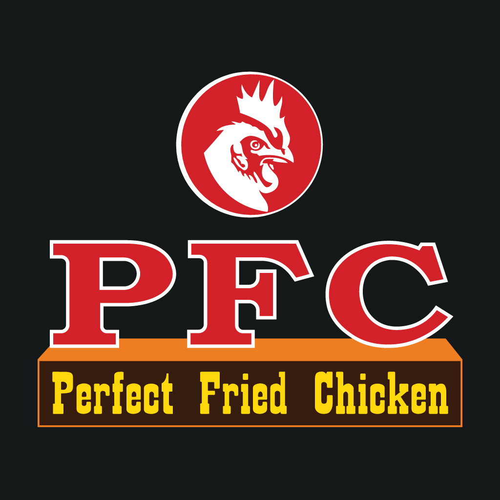 PFC Perfect Fried Chicken Takeaway Logo
