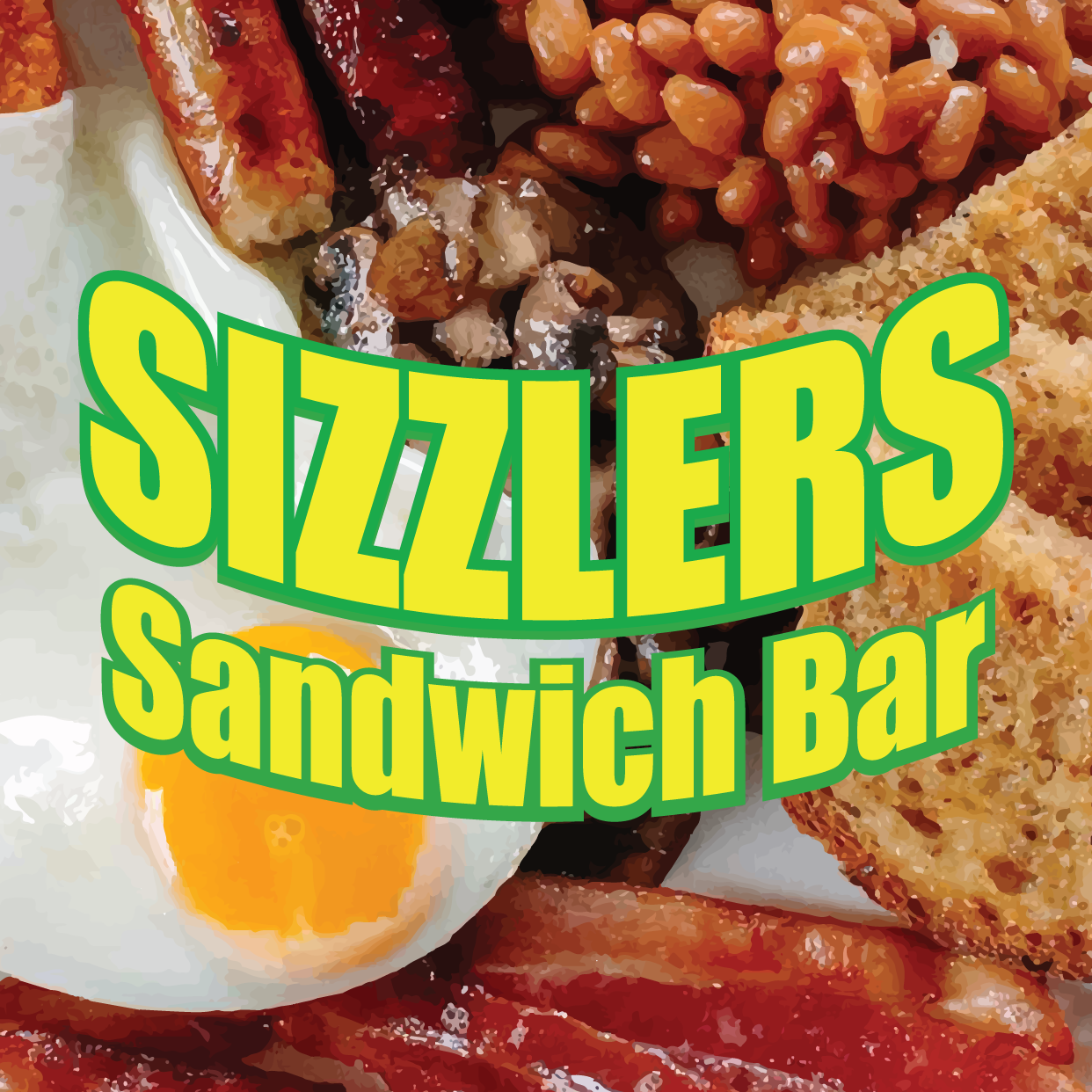 Sizzlers Sandwich Bar Online Takeaway Menu Logo