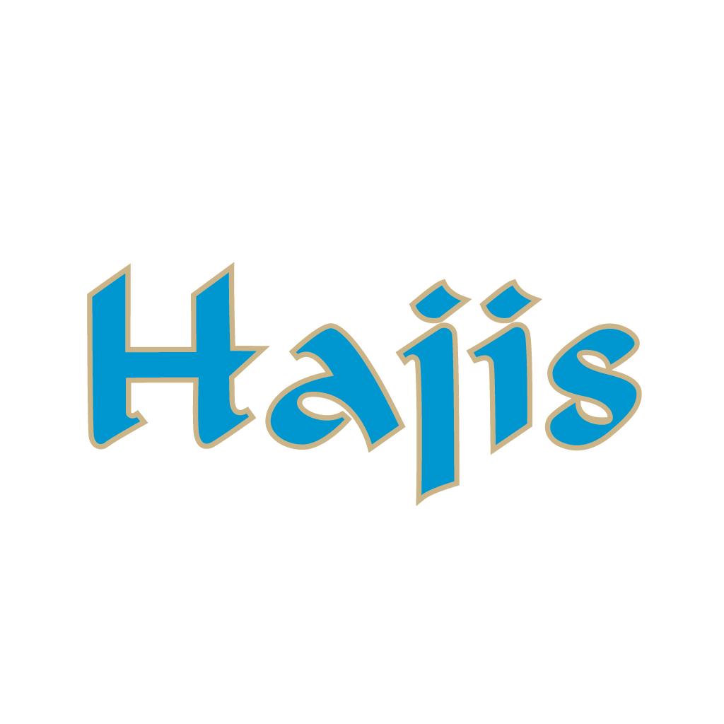 Hajis Online Takeaway Menu Logo