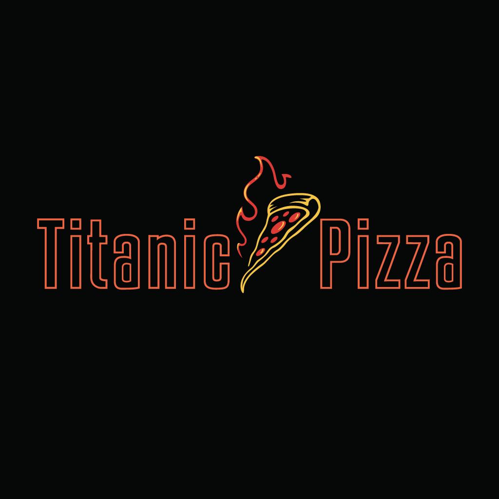 Titanic Pizza Online Takeaway Menu Logo