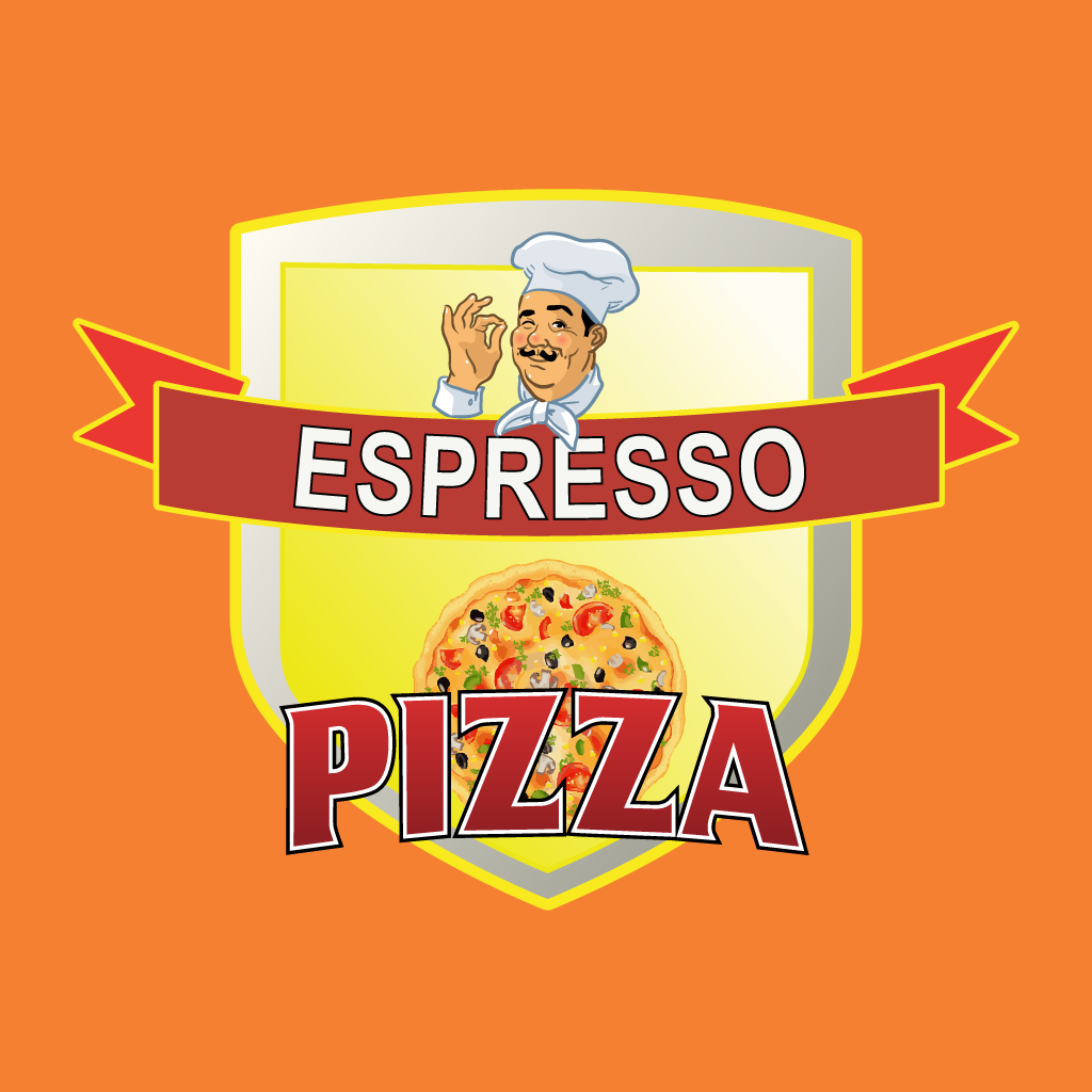Espresso Pizza Online Takeaway Menu Logo