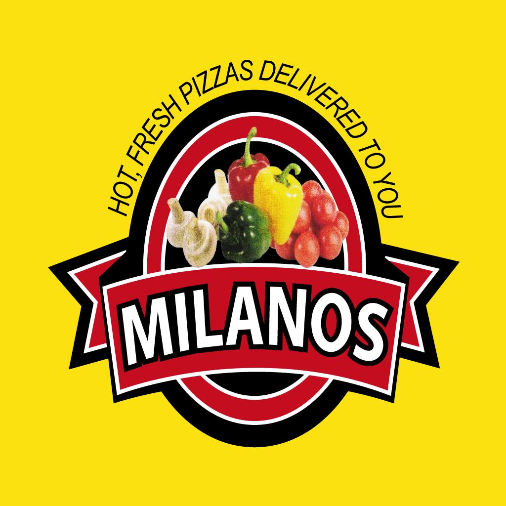Milanos Pizza Shawarma Online Takeaway Menu Logo