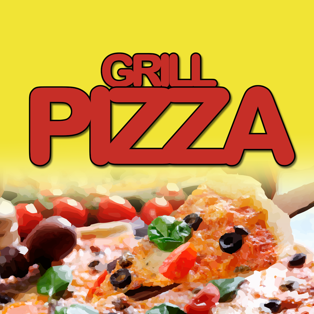 Grill Pizza Online Takeaway Menu Logo
