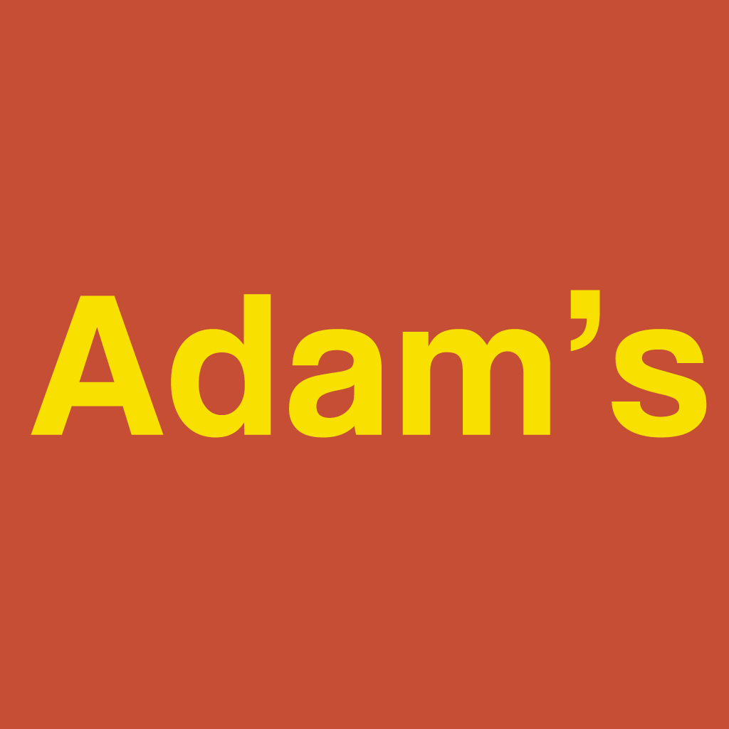 Adam's Pizzeria Online Takeaway Menu Logo
