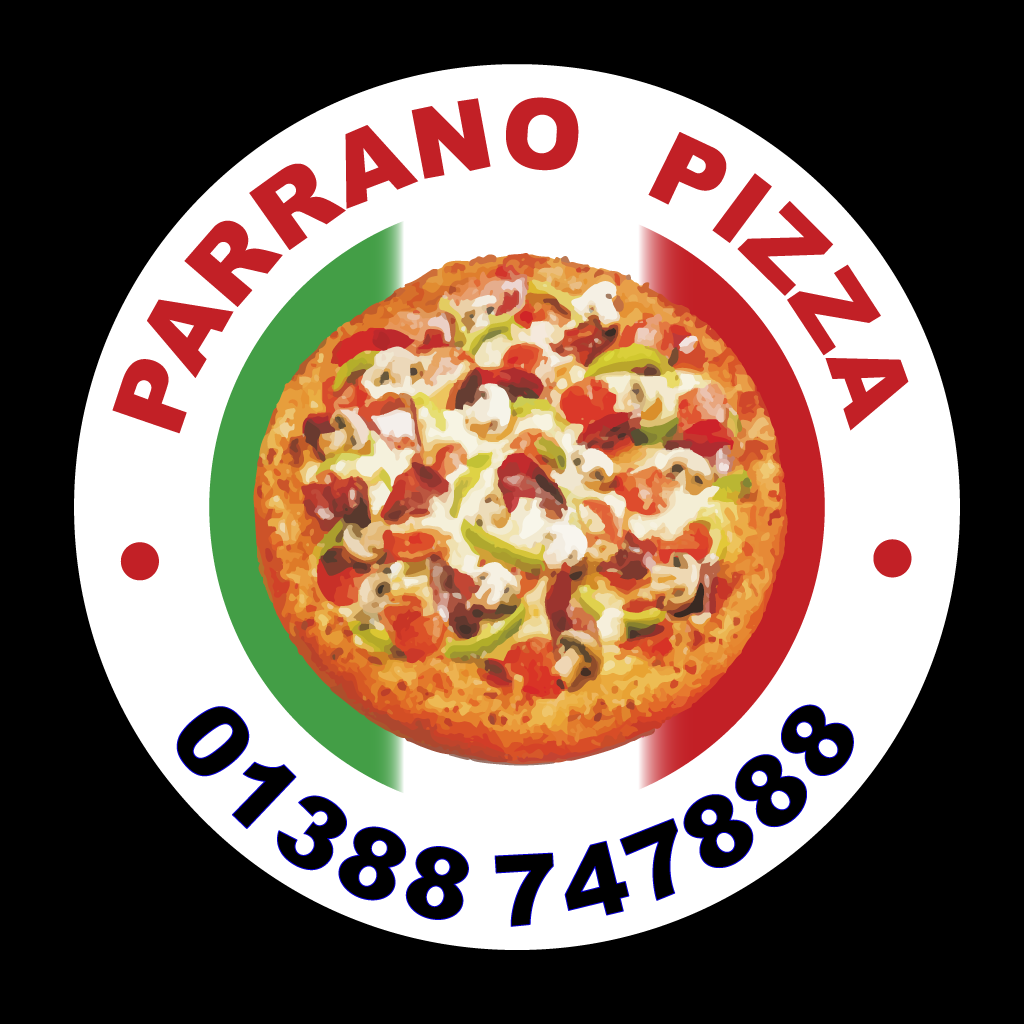 Parrano Pizza Online Takeaway Menu Logo