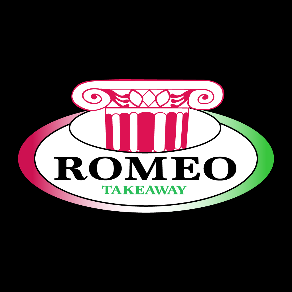 Romeo Takeaway Online Takeaway Menu Logo