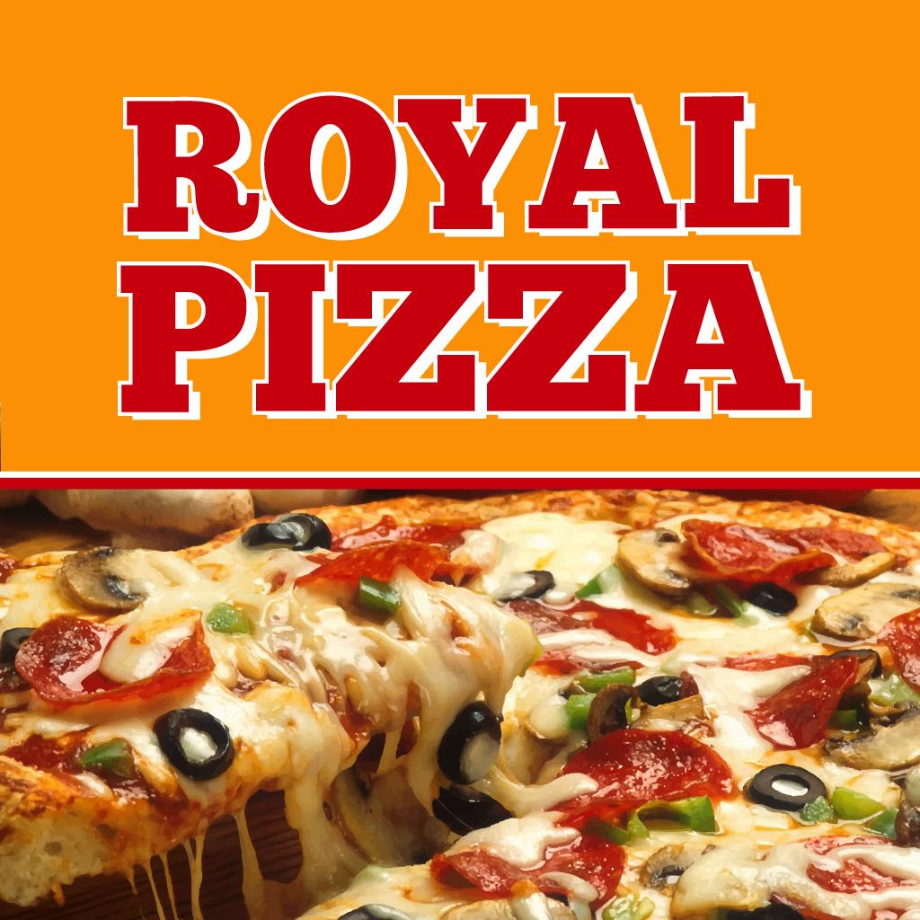 Royal Pizza Online Takeaway Menu Logo