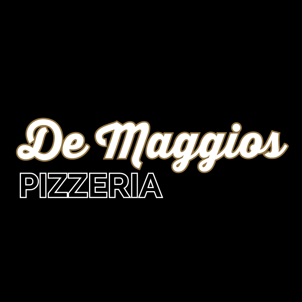 De Maggios Pizzeria Online Takeaway Menu Logo