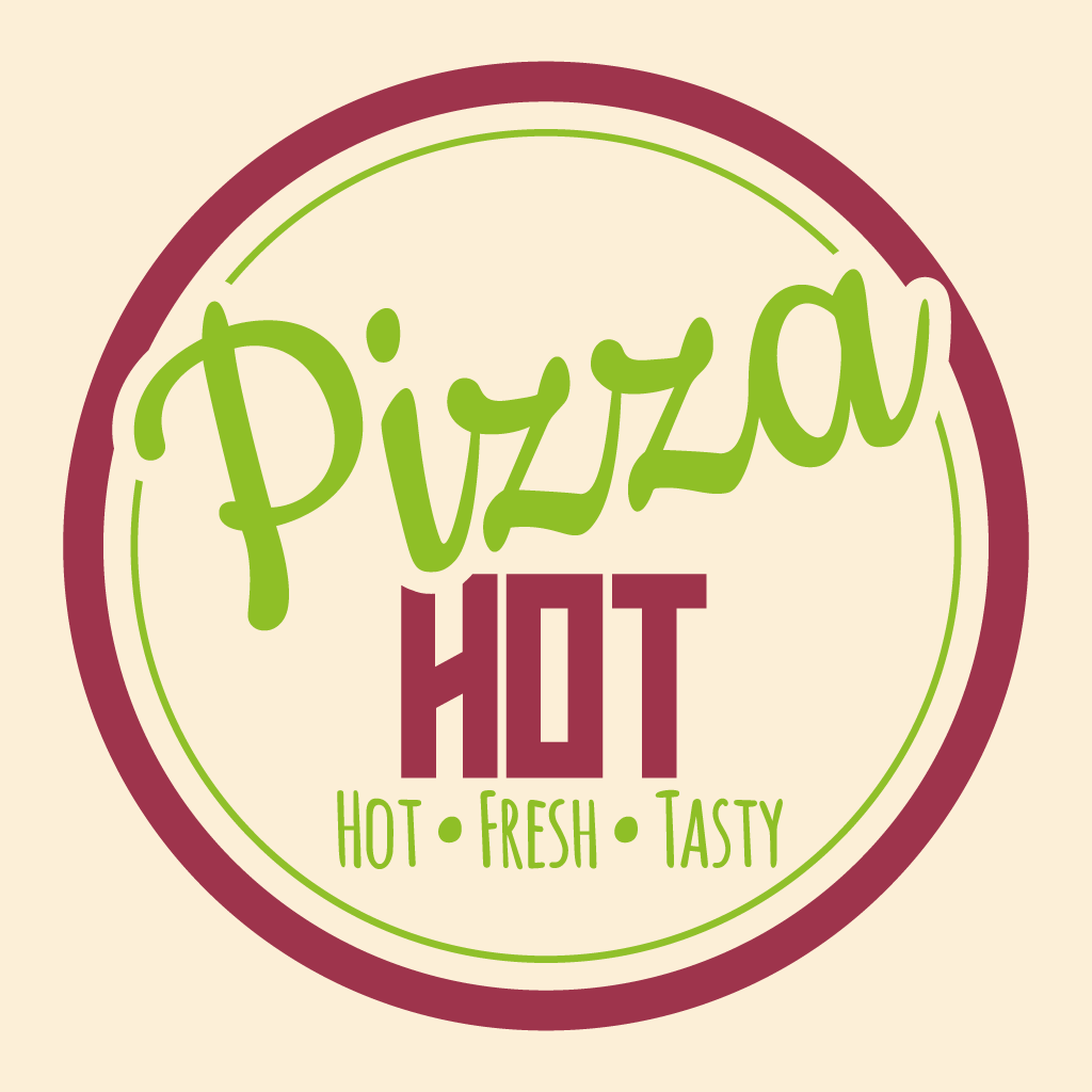 Pizza Hot Takeaway Logo