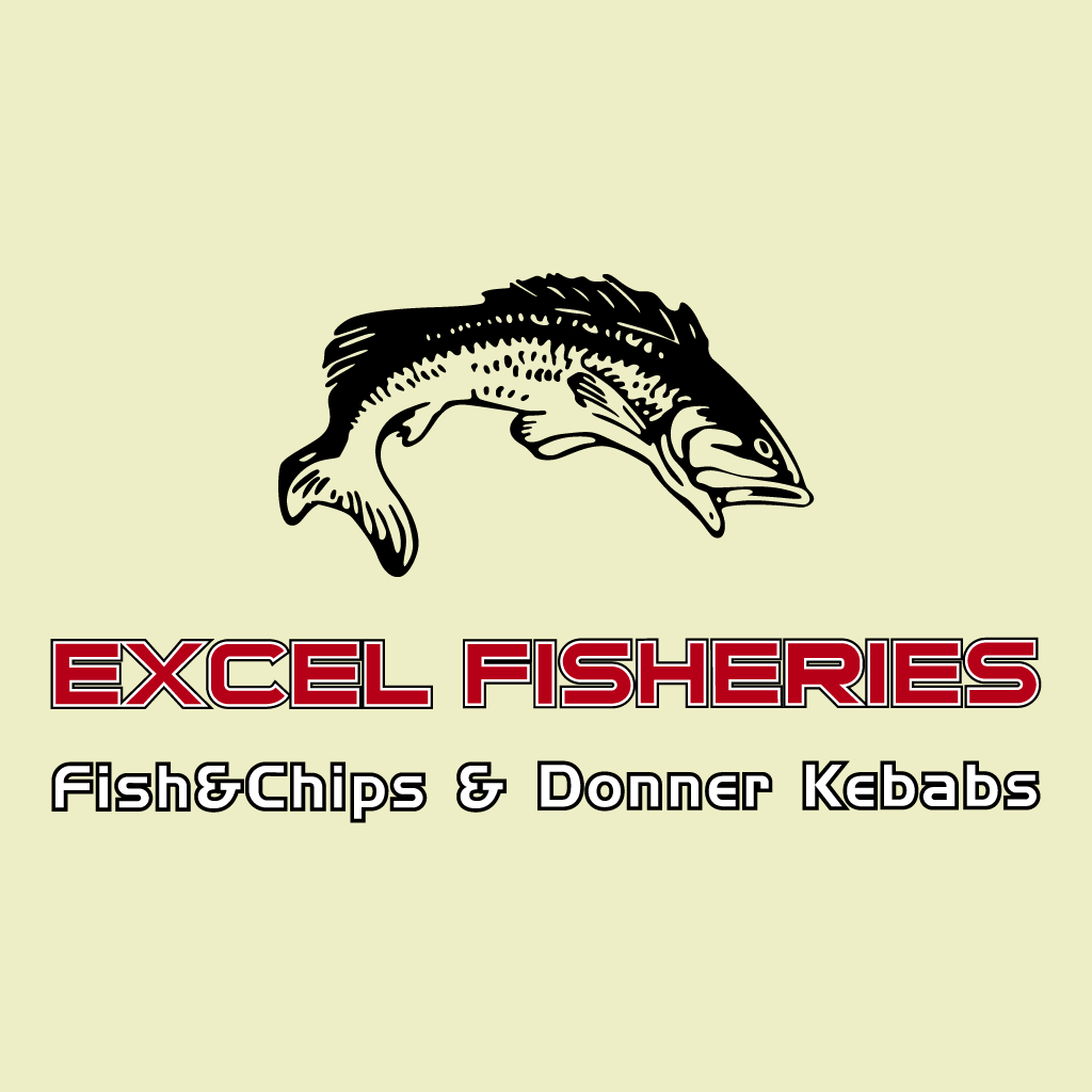 Excel Fisheries Online Takeaway Menu Logo