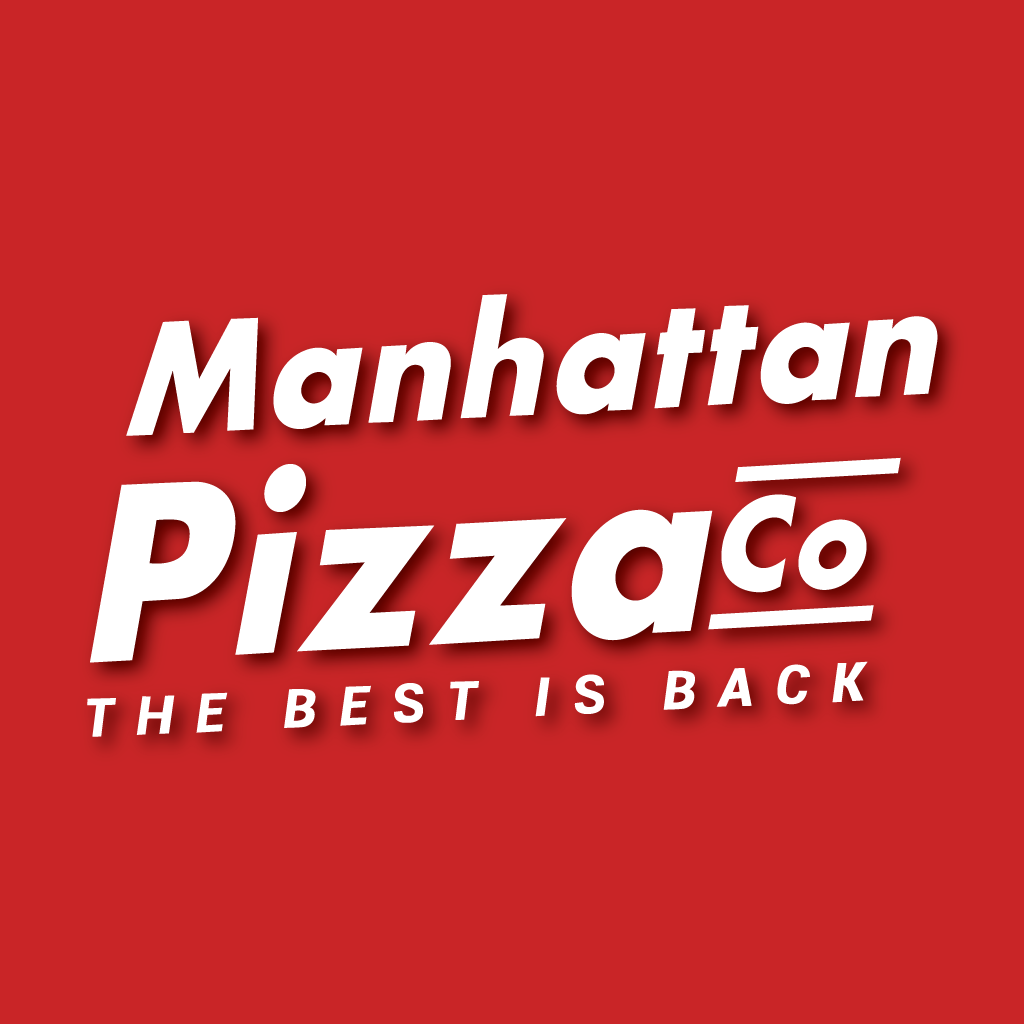 The Manhattan Pizza Takeaway Logo
