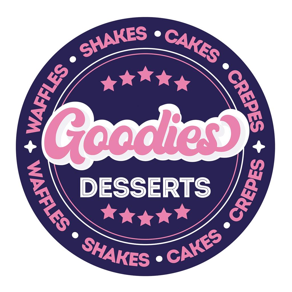 Goodies Desserts Online Takeaway Menu Logo