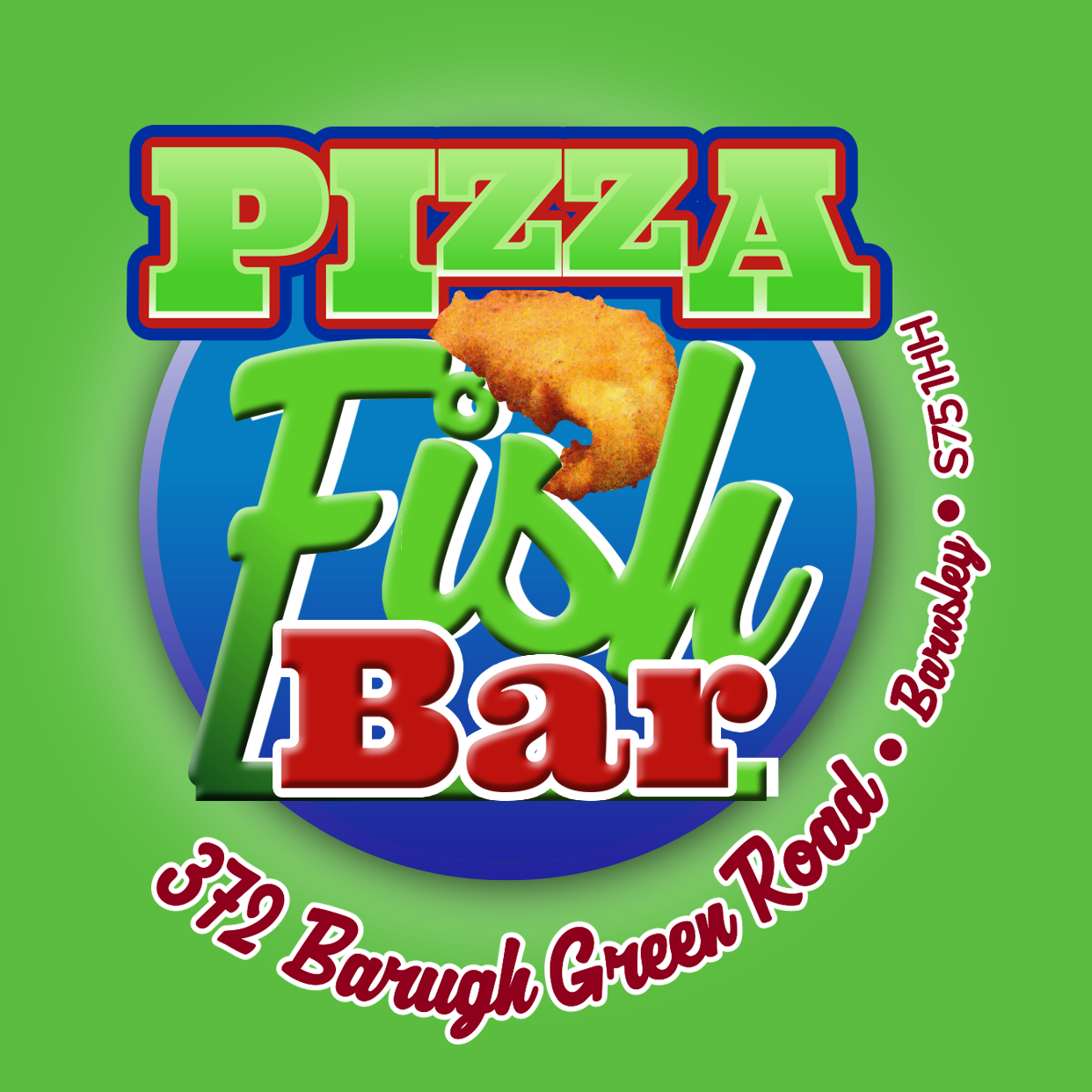 Pizza Fish Bar Online Takeaway Menu Logo