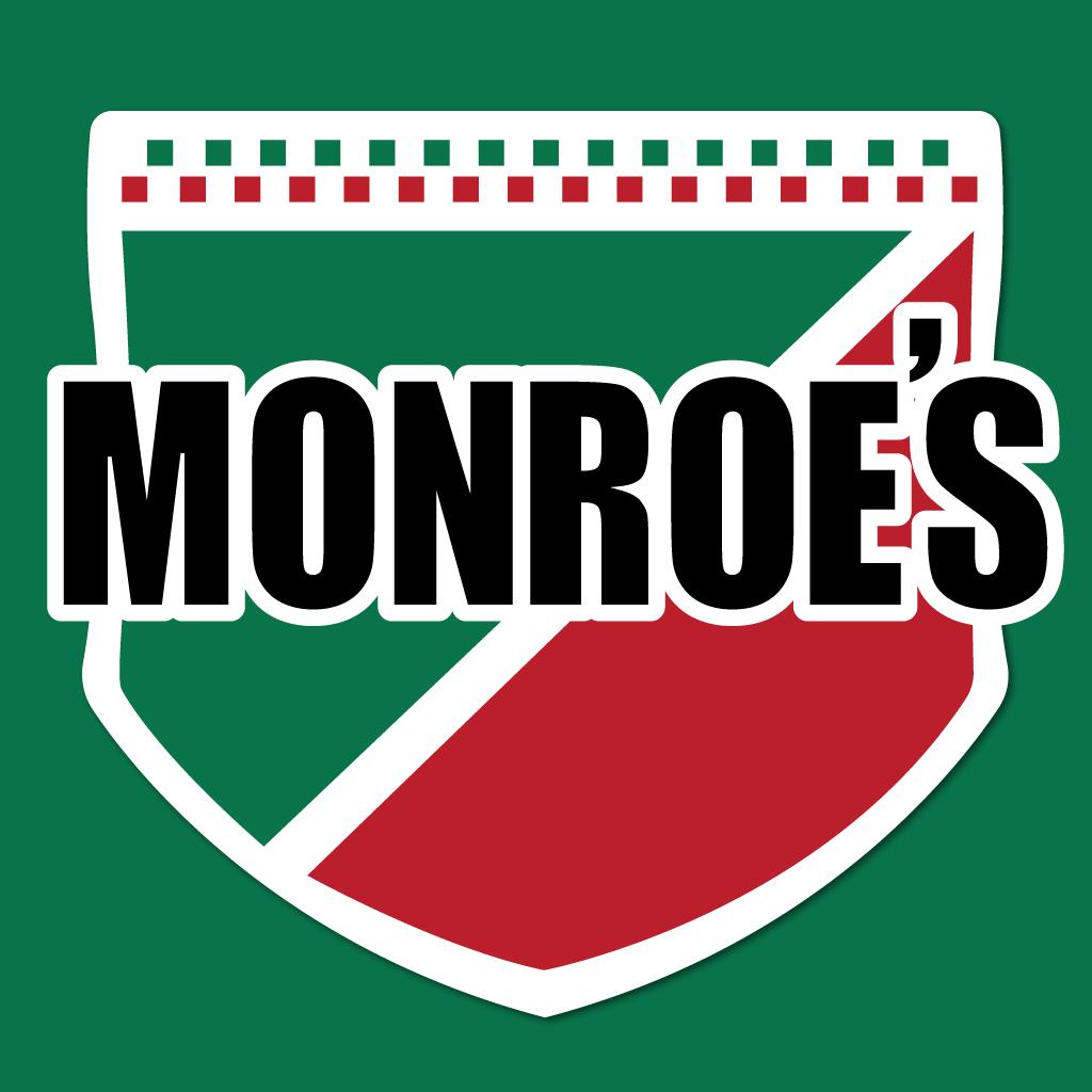 Monroes Online Takeaway Menu Logo