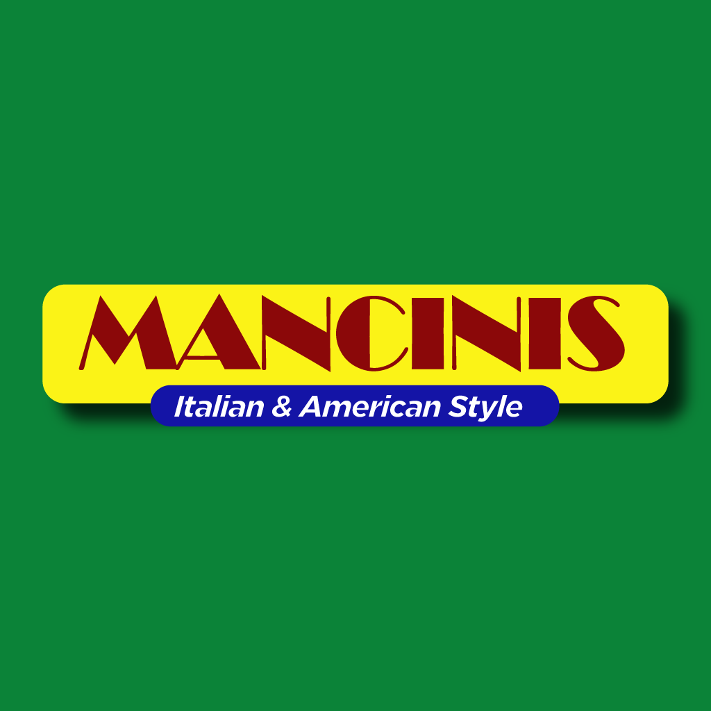 Mancinis Italian and American Style Online Takeaway Menu Logo