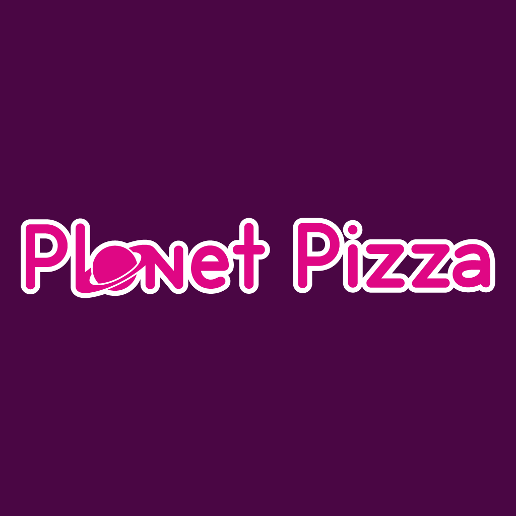 Planet Pizza Online Takeaway Menu Logo