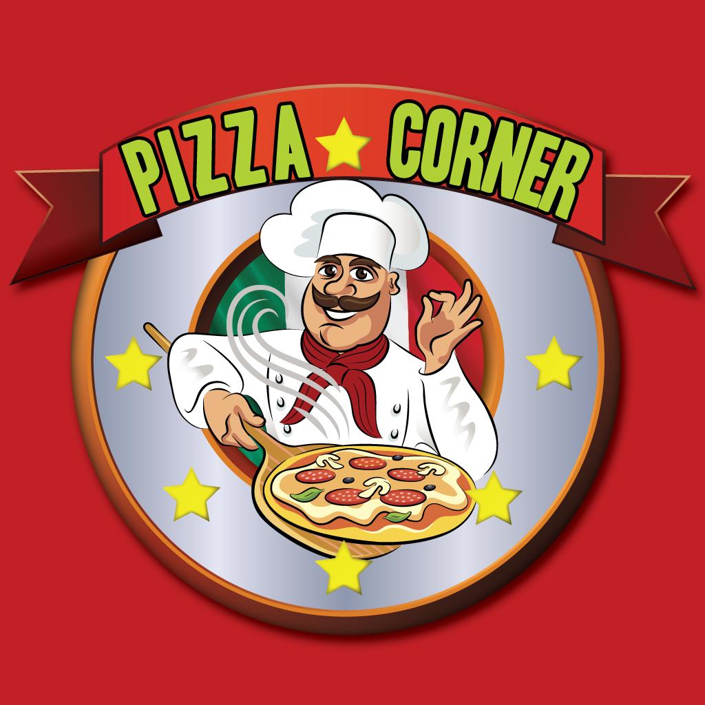Pizza Corner Takeaway Logo