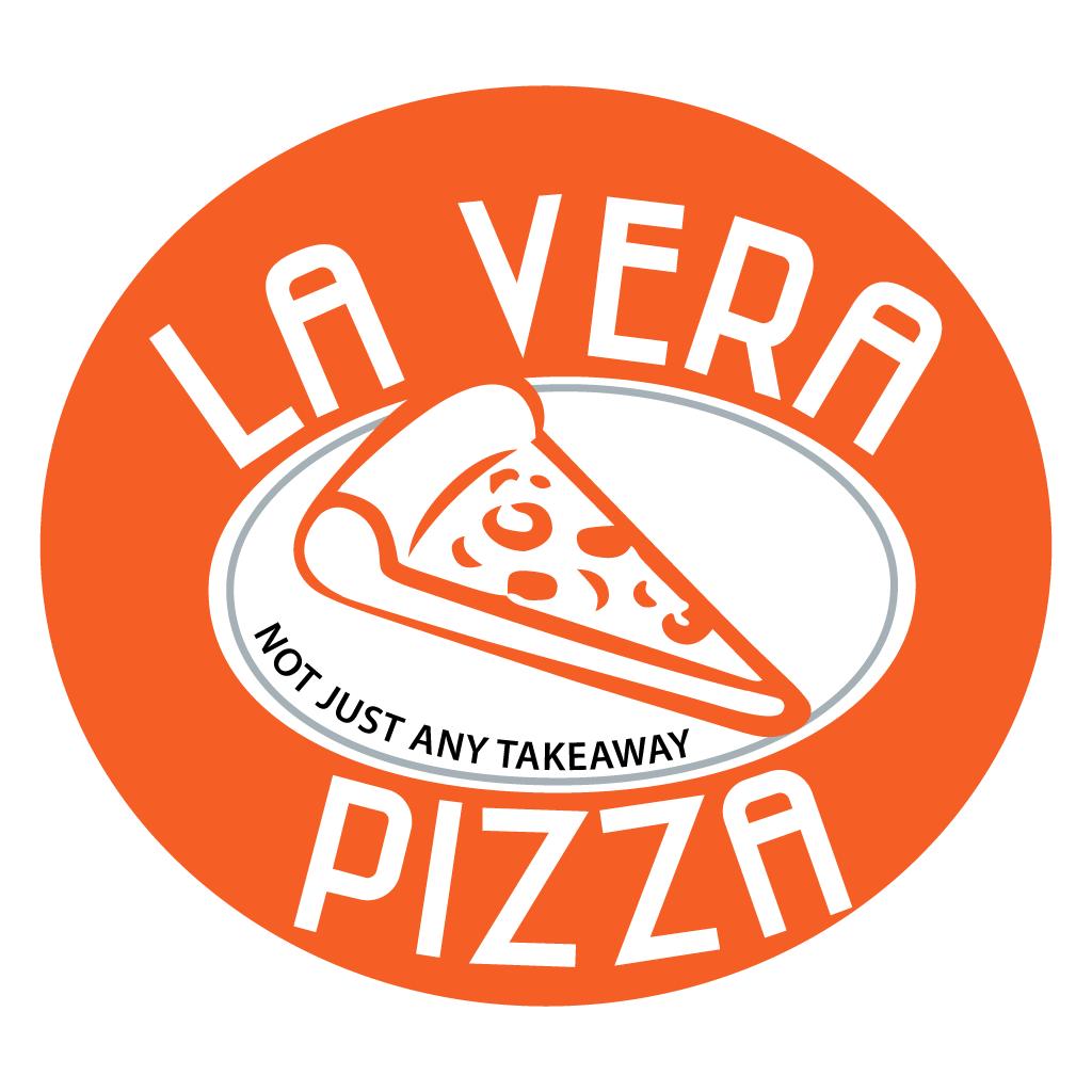 La Vera Pizza Takeaway Logo