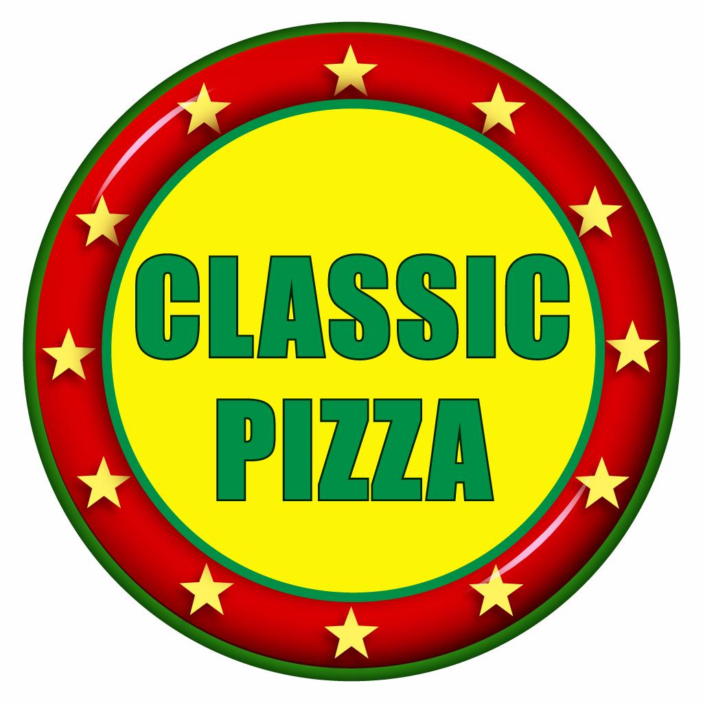 Classic Pizza Online Takeaway Menu Logo