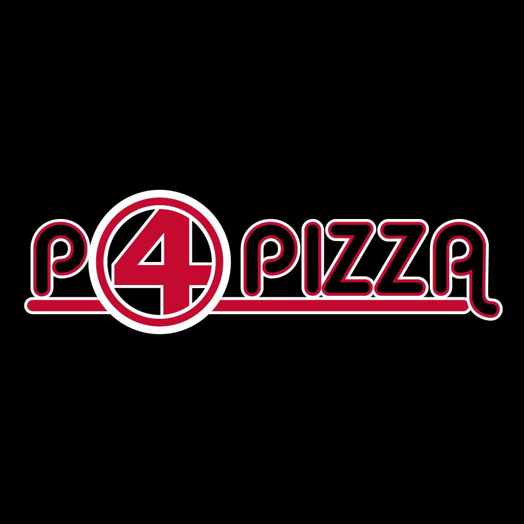 P4 Pizza Takeaway Logo