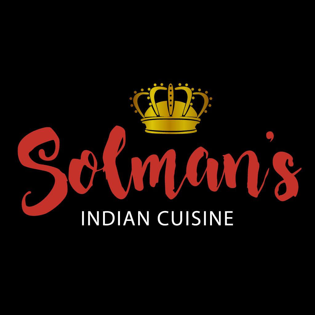 Solmans Indian Cuisine Online Takeaway Menu Logo