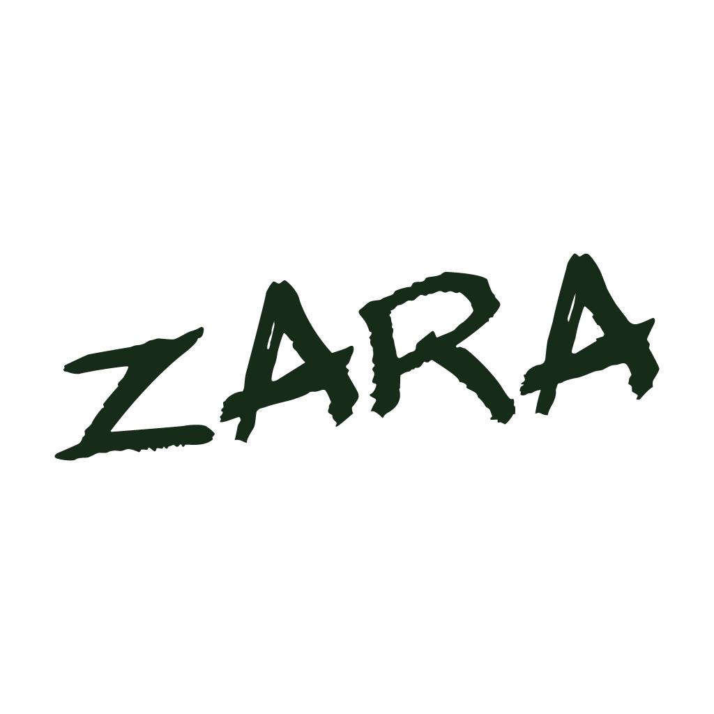 Zara Online Takeaway Menu Logo