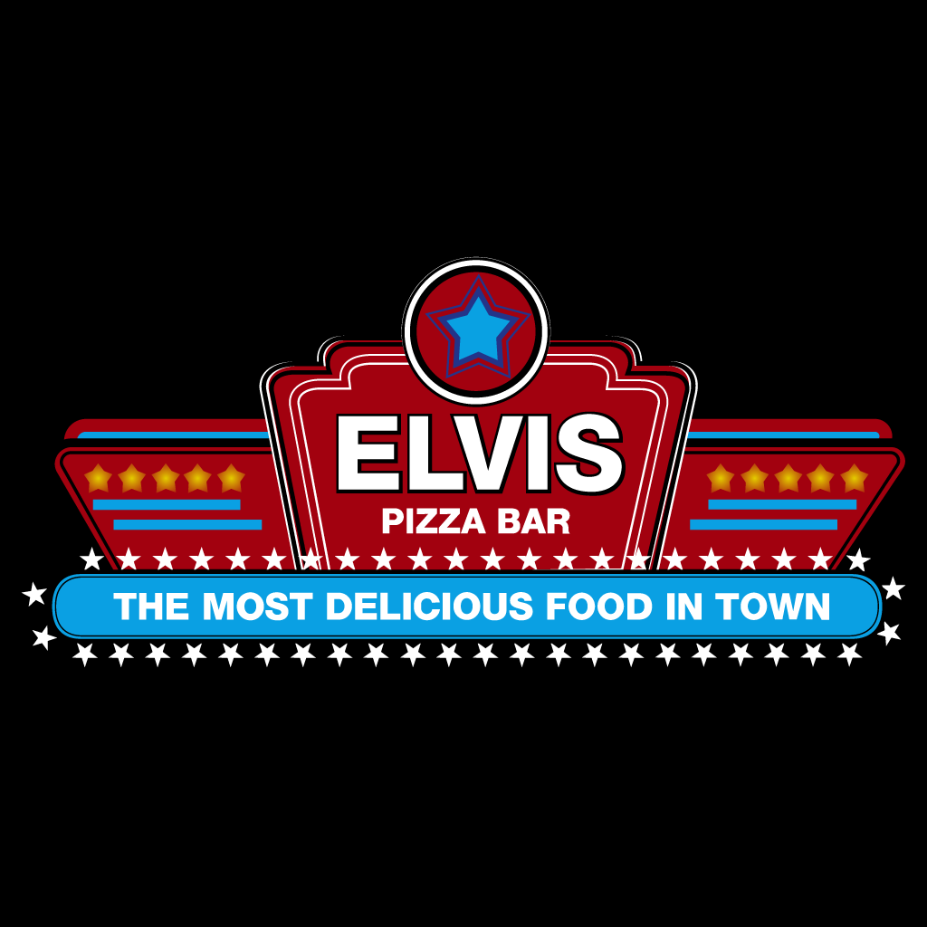 Elvis Pizza Bar Online Takeaway Menu Logo