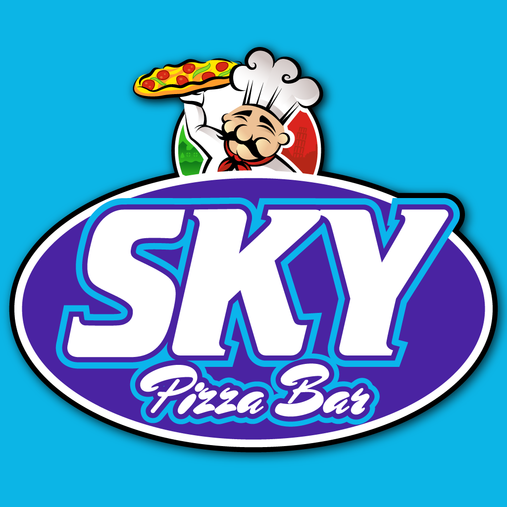 Sky Pizza Bar Online Takeaway Menu Logo