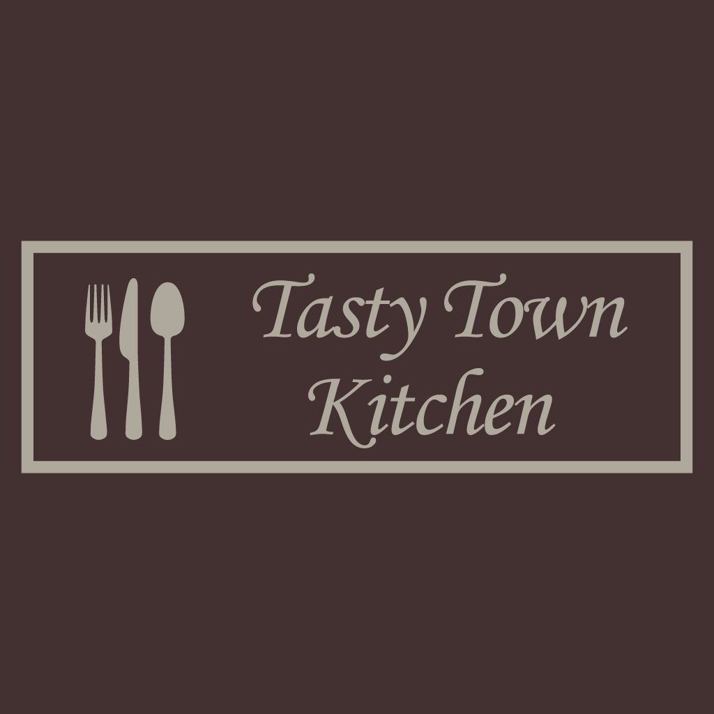 Tasty Town Kitchen Online Takeaway Menu Logo
