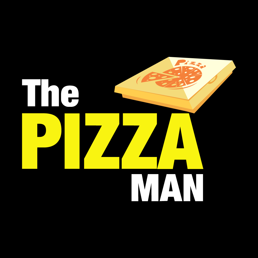 The Pizza Man Online Takeaway Menu Logo