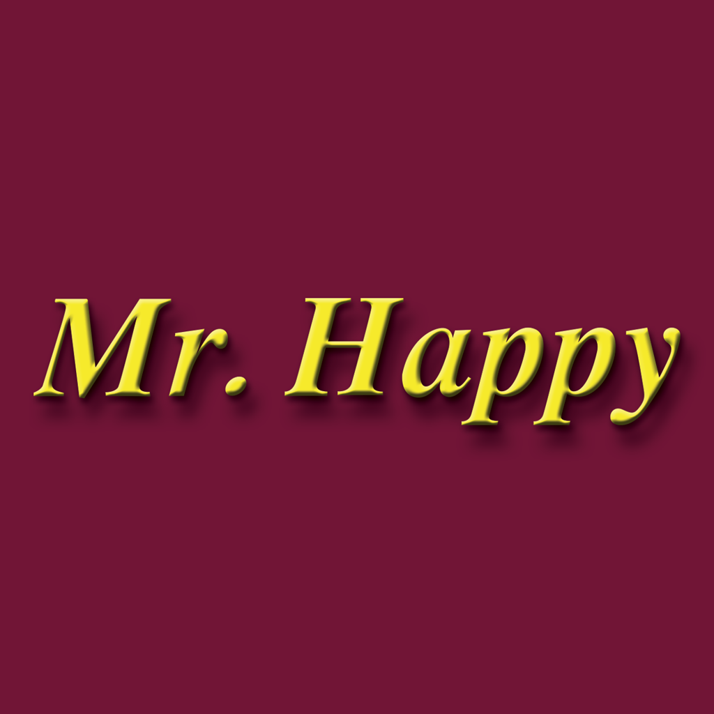 Mr Happy Online Takeaway Menu Logo