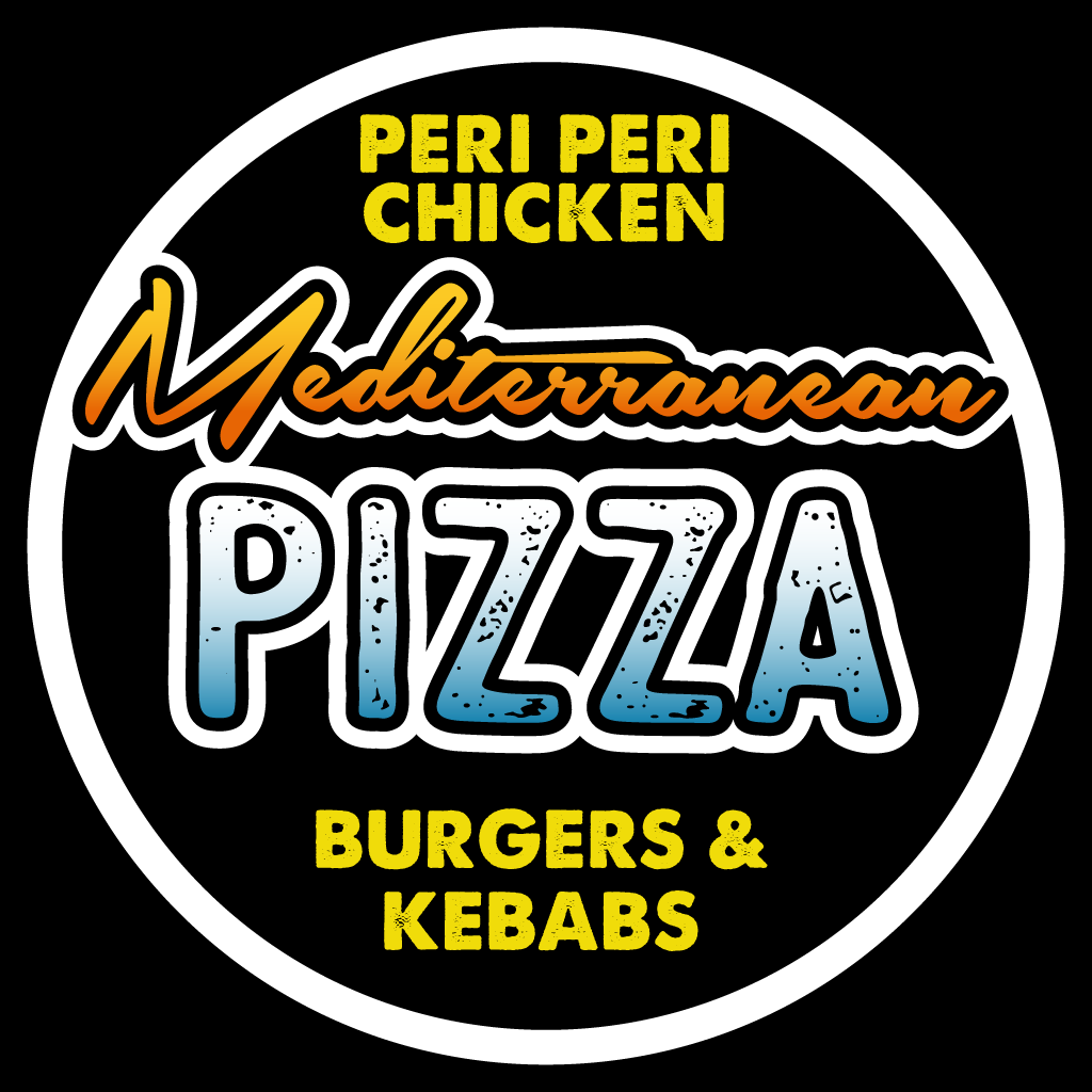 Mediterranean Pizza Online Takeaway Menu Logo