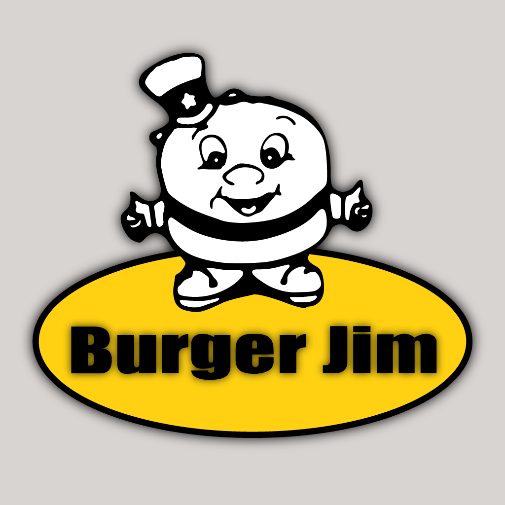 Burger Jim Online Takeaway Menu Logo