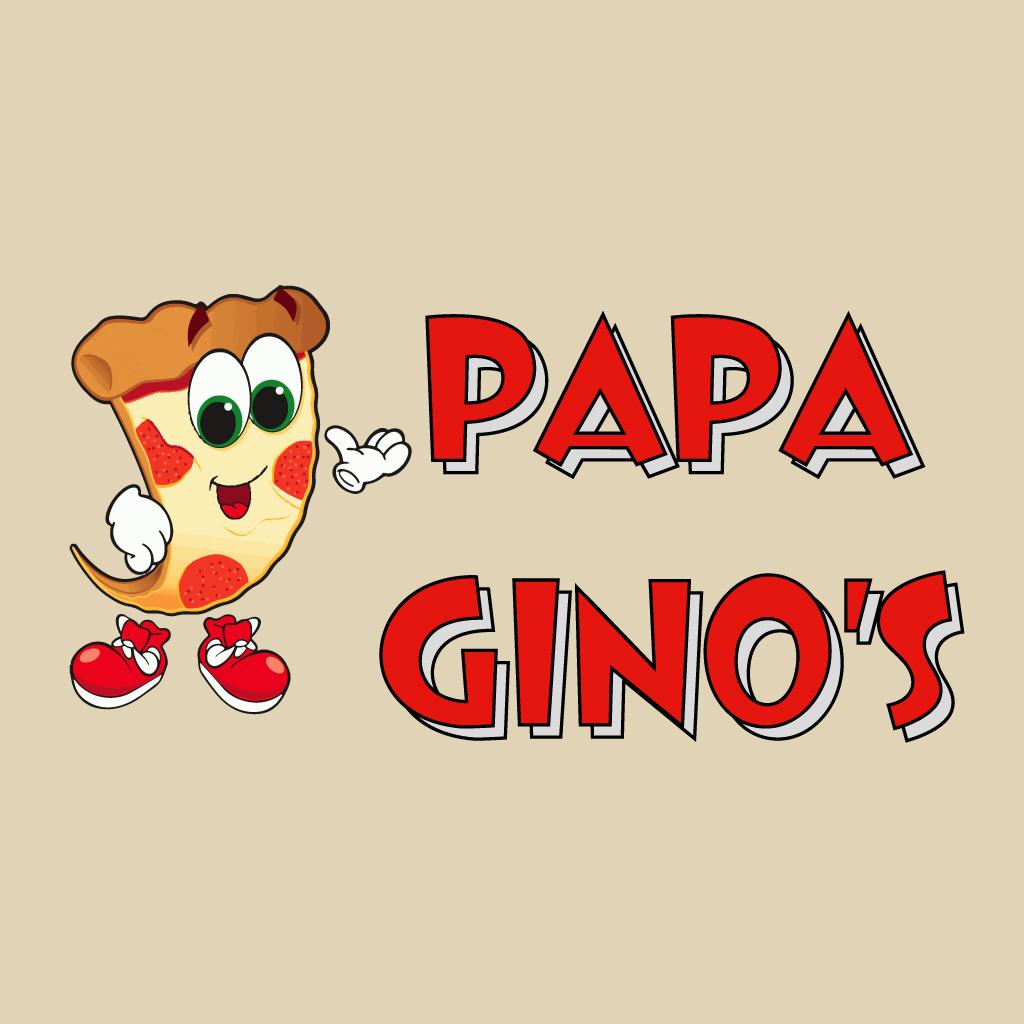 Papa Ginos Online Takeaway Menu Logo